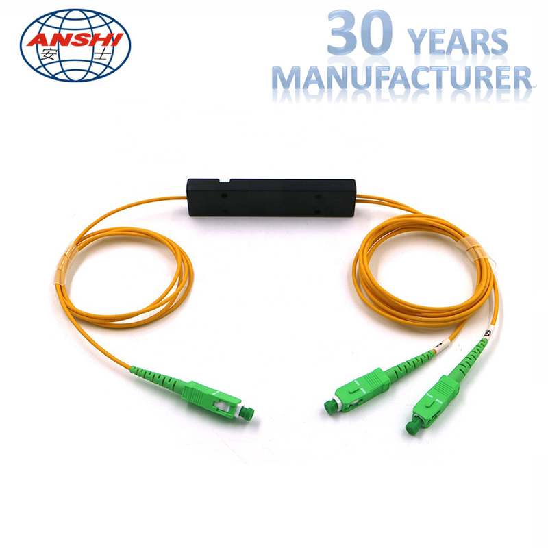 Small Volume Ftth Fiber Optic Terminal Box SC / APC Connector With ISO9001